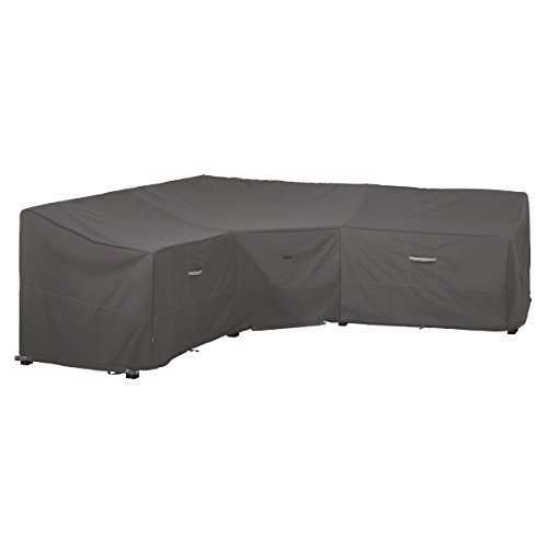 Classic Accessories Ravenna Patio V-Shaped Sectional Sofa Cover, V-Shaped