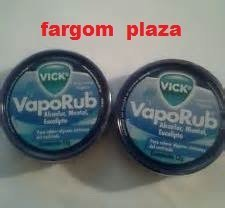 (2) Vicks Vaporub Topical Ointment 12g Tin Travel Size by Vick (Rub Tin)