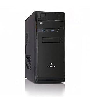 CoolBox F70 Torre 500W Negro Carcasa de Ordenador - Caja de ...