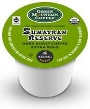 Green Mountain Fair Trade Organic Sumatran Reserve Extra Bold 96 K-Cups