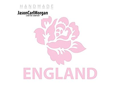 Rugby JCM¨ Iron On Transfer Decal England Rugby Rose Gold Sports & Outdoors
