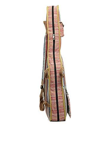 The House of Tara - Multicolour Handloom Fabric Guitar Bag 5
