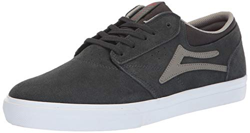 'MS417 Mint Lakai Charcoal Black Griffin' Suede Suede 061RAZqRxw
