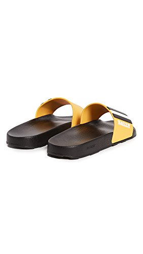 BALLY Mens Saxor Slides Kodak/Black/White Ocx5oQVOC2
