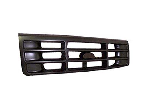 92-96 F150 F250 F350 Grille Dark Argent FO1200323 ()