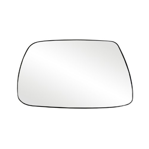 Fit System 88265 Jeep Grand Cherokee Left Side Power Replacement Mirror Glass with Backing Plate ()