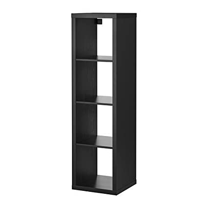 Peachy Ikea Kallax Bookcase Shelving Unit Display Black Brown Modern Shelf Download Free Architecture Designs Intelgarnamadebymaigaardcom