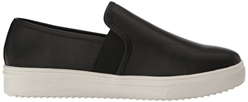 Blondo Womens Riyan Waterdicht Fashion Sneaker Zwart Leer