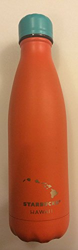 Starbucks Exclusive Hawaii Stainless Steel Orange S'well Thermal Bottle-17oz by Starbucks