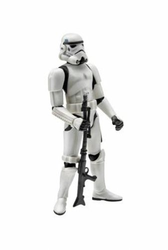 Star Wars, 2004 Saga Collection Action Figure, Stormtrooper Death Star Chase, 3.75 Inches by Hasbro