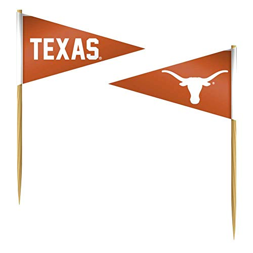 Texas Longhorns Toothpicks 36 Piece Pennant Style FanPicks]()