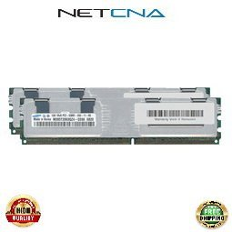 (397411-B21 2GB (2x1GB) HP/Compaq ProLiant BL460c server blade PC2-5300 DDR2-667 240-pin Fully Buffered Memory Kit 100% Compatible memory by NETCNA USA)