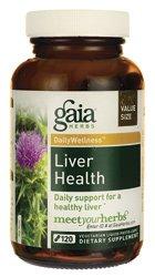 Gaia Herbs santé du foie - 120 Vegetarian liquide Phyto-Caps