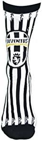 Juventus Socks with Vertical Stripes