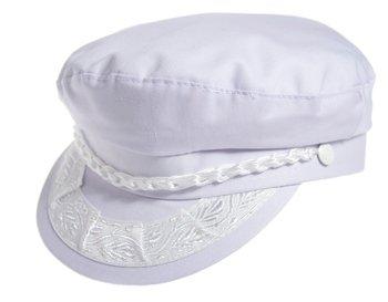 21fa0e84d Aegean Authentic Greek Fisherman's Cap - Cotton - White