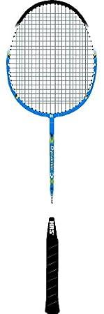HRS BR-107 Aluminum-Alloy Badminton Racquet (Multicolour) Badminton Racquets at amazon