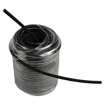 Temco 10 AWG Solar Panel Wire 250' Power Cable Black UL 4703 Copper Made in USA PV Gauge