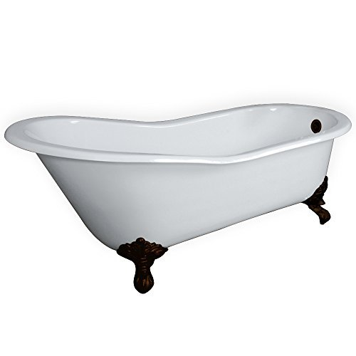 cast iron bathtub clawfoot - 7