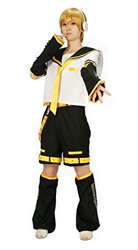 MILICA BOOKS Vocaloid Kagamine Rin/Kagamine Len Cosplay Costume (Small) White ()