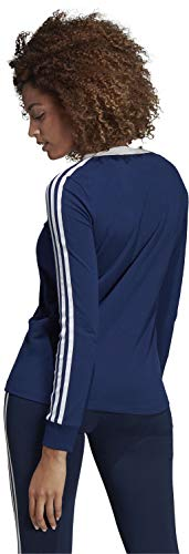 Azuosc Str Mujer Ls Camiseta 3 Adidas Tee 67ARRY