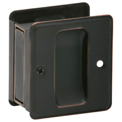(SCHLAGE LOCK CO Not Available SCHLAGE LOCK SC990B-716 Sliding Door Pull, Age Bronze Aged)