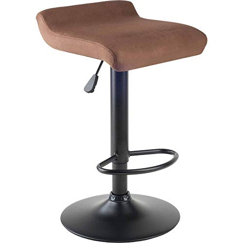 - OKSLO Marni air lift adjustable microfiber swivel seat stool