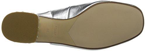 Dune Cameoo, Zapatos de Tacón Trasero para Mujer Plateado (Silver)