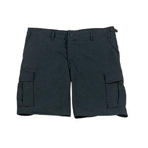 Ripstop Army Cargo Bdu Shorts - Black Rip-Stop Army Cargo BDU Shorts 7047 Size L