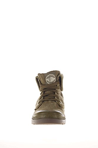 Palladium Hombre Sneaker alta PACAL0006 P326 Pallabrouse Baggy canvas Olive