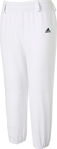 Star Youth Baseball Pants - adidas Youth Triple Stripe Pull-Up Pants, (White, M)