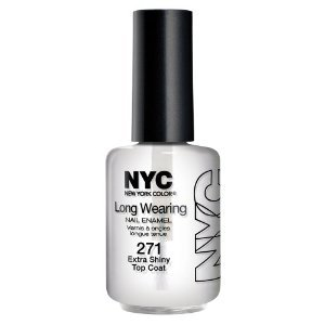 NYC Nail Polish Extra Shiny Top Coat (Pack of 3)