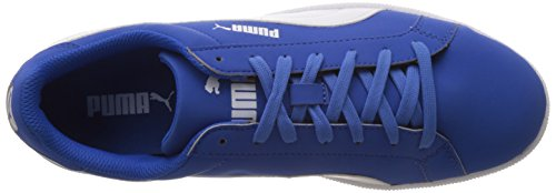 Top Unisex White Puma Strong Low Smash Blue Buck Trainers Adults' p77xSq