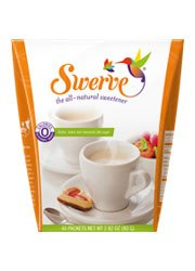 Price comparison product image Swerve Sweetener Packets (40 x 3 Gram Packets)