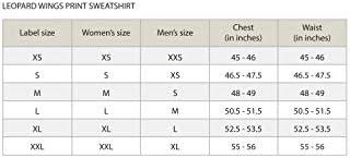 JONNY COTA STUDIO LEOPARD WINGS PRINT SWEATSHIRT, MEN'S AND WOMEN'S