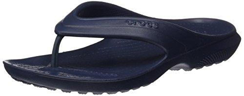Crocs Classic K Flip Flop (Toddler/Little Kid), Navy, 2 M US Little Kid