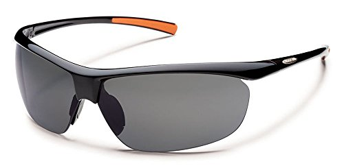 Suncloud Zephyr Polarized Sunglass (Black Frame/Gray Polar - Suncloud Polarized Sunglasses