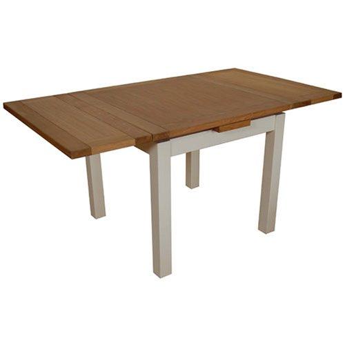 Mesa de Comedor Extensible Dijon Madera de Roble (Pintada A) 90 x ...