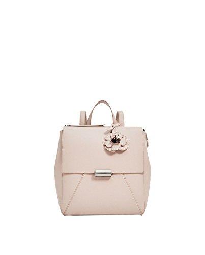 Yy.f Patrón De Flor De La Correa Mochilas Bolsas De Hombro Del Diseñador De Las Mujeres Bolsos Carteras Paquete Sólido Color 2 Pink