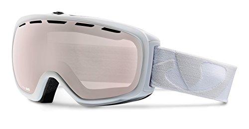 Giro Basis Spherical Lens Goggle (White Icon, Rose Silver - Lense Icon