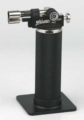 Prince Piezo Micro Torch schwarz GB-2001 Flamme 300-1.300 Grad Celsius