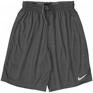 Nike Men's Anthracite Team Fly DriFit Shorts, Large, anthracite/matte silver by Nike