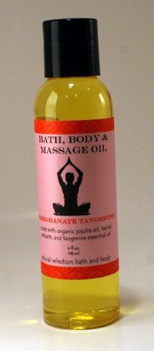 (4 oz Zen Inspirations Bath, Body & Massage Oil Peace)