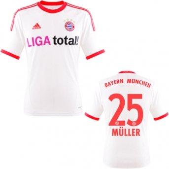 Müller Trikot Away 2013 Fc Bayern München Xxxl Amazonde Sport