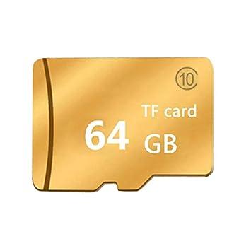 RONSHIN Tarjeta de Memoria SD Tarjeta de 16GB-128GB de Oro ...