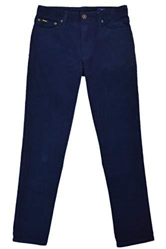 Polo Ralph Lauren Boys 100% Cotton Corduroy Dress Pants Navy Blue (10)