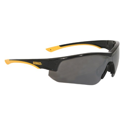 Radians DPG97-6D Dewalt Adapter Dual Mold Temples Safety Glass with Silver Mirror - Radians Sunglasses