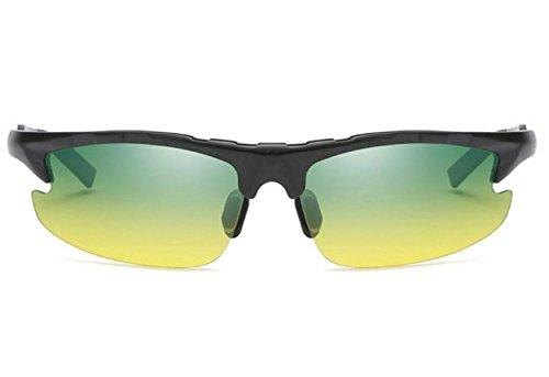 De Al Deportes Gafas Gafas Que De Conducen Polarizadas MSNHMU Negro Para Hombre Sol Libre Sol De Aire Bicicleta qFgw0nS