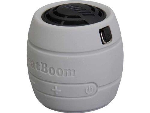 Micronet Beatboom Portable Wireless Bluetooth Speaker   Retail Packaging   Silver Black