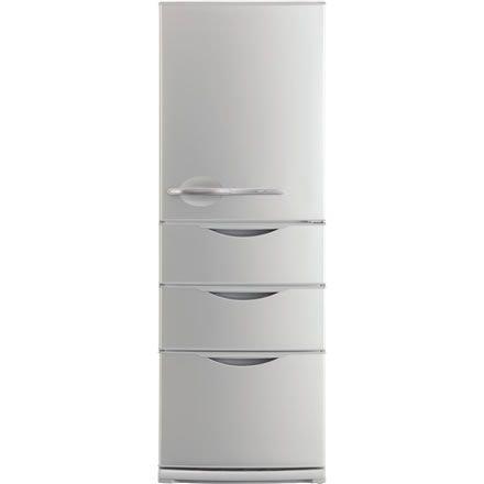 【SR-361P-S】三洋電機 ナノフェライト除菌機能搭載 4ドア冷凍冷蔵庫[内容積355L]   B0014B0S1A, カモシ:3734dc5e --- consorciosaudemaracanau.com.br