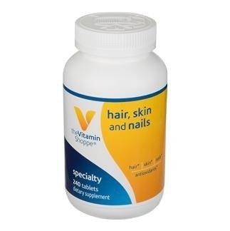 the Vitamin Shoppe Hair, Skin and Nails (240 Tablets)
